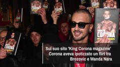Falso flirt Brozovic-Wanda Nara, Corona a processo