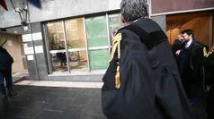 Corteo degli avvocati a Genova contro la riforma della prescrizione