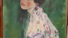 Ritrovato quadro a Piacenza, sarebbe un Klimt rubato