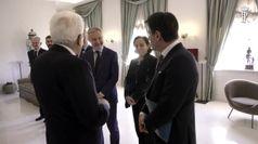 Mattarella riceve Conte e i ministri in vista del Consiglio Ue