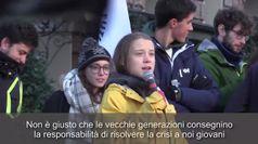 Torino, Greta Thunberg: