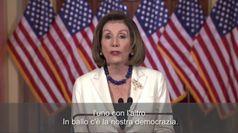 Impeachment, Pelosi chiede che si proceda con i capi d'accusa contro Trump