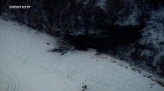 Usa, precipita elicottero in Minnesota