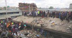 Kenya, crolla palazzo di sei piani a Nairobi