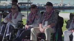 Pearl Harbor, i sopravvissuti tornano alla base per commemorare le vittime