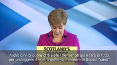 Elezioni Scozia, Sturgeon: