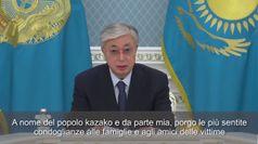 Incidente aereo, presidente Kazakistan: