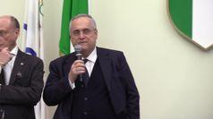 Lazio, al Coni le celebrazioni per i 120 anni della polisportiva