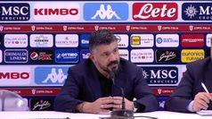 Napoli, Gattuso ai giornalisti: