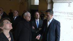 Mattarella, la visita nella citta' di Benevento