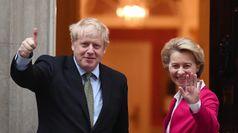 L'Ue avverte Johnson, negoziati duri per il dopo Brexit