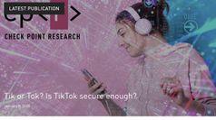 Falla sicurezza in TikTok, a rischio dati personali