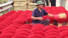 Vietnam, il 'villaggio dell'incenso' si prepara per il 'Tet'