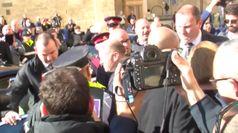 Malta, il dimissionario Muscat lascia l'Auberge de Castille