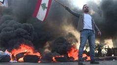 Libano, scontri a Beirut: fuoco in piazza
