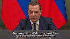 Russia, Medvedev e il governo rassegnano le dimissioni