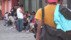 Messico, l'esercito blocca la carovana di migranti