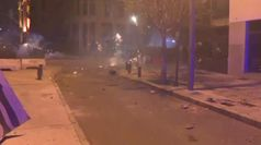 Nuovi scontri in Libano, in fiamme il centro di Beirut