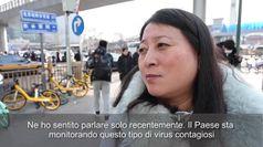 Virus cinese, i cittadini:
