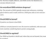 Oms, sigarette elettroniche dannose e non sicure