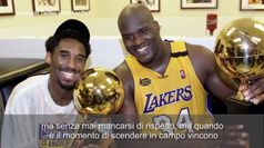 Kobe, Shaquille O'Neal in lacrime: