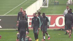 Champions, la Juve si prepara alla sfida contro il Lione
