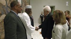 Quirinale: Mattarella riceve presidente Repubblica del Mali