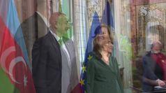 Casellati incontra il presidente dell'Azerbaigian