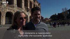 Roma, la paura dei turisti per il coronavirus