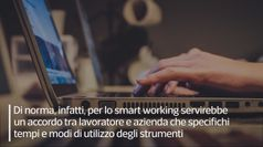 Coronavirus, il decreto per lo smart working
