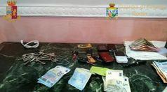 Roma, tre arresti per usura ed estorsione: vantavano rapporti con la 'ndrangheta