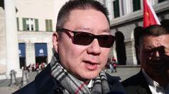 Coronavirus, cinesi protestano a Genova: