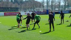Europa League, la Roma si allena ma salta la partenza per Siviglia