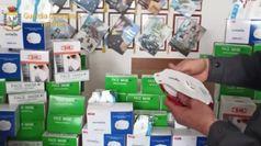 Coronavirus, Taranto: sequestrate 23mila mascherine