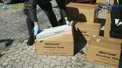 Coronavirus, a Gioia Tauro requisite 19 tonnellate di materiale medico sanitario