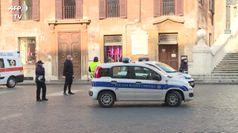Coronavirus, controlli nel cuore di Roma nella terza domenica di blocco