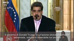 Usa, Maduro incriminato per narcotraffico. Lui: