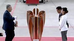 Tokyo 2020, la fiamma olimpica arriva in Giappone