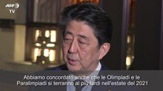 Tokyo 2020, Abe: