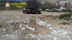 Foggia, sequestrati due depositi di rifiuti speciali