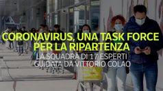 Coronavirus, una task force per la ripartenza