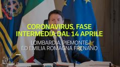 Coronavirus, fase intermedia dal 14 aprile