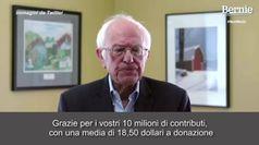 Usa 2020, Sanders si ritira: