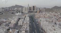 Coronavirus, la Mecca vista dall'alto