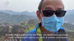 Coronavirus, la scenica riapertura della Grande Muraglia cinese