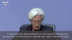 Coronavirus, Lagarde: