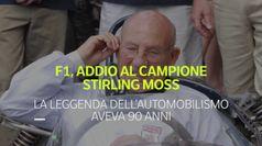 F1, addio al campione Stirling Moss