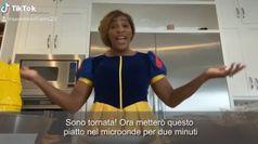 Serena Williams vestita da Cenerentola: