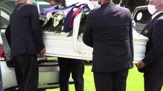 Funerali Rinaldi, oltre 400 persone per il giovane calciatore morto per un aneurisma