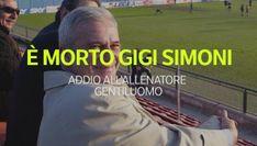 E' morto Gigi Simoni